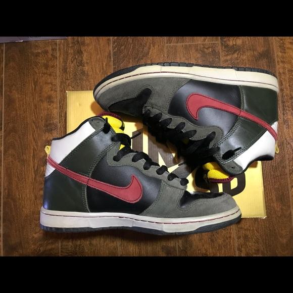Nike Sb Dunk High Premium Boba Fett